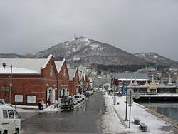 函館の風景。美しい港町。