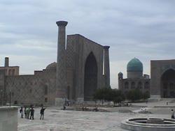 サマルカンドのモスク